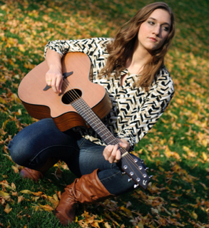 Kristina guitar angled square