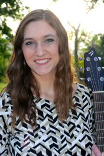 Kristina with guitar